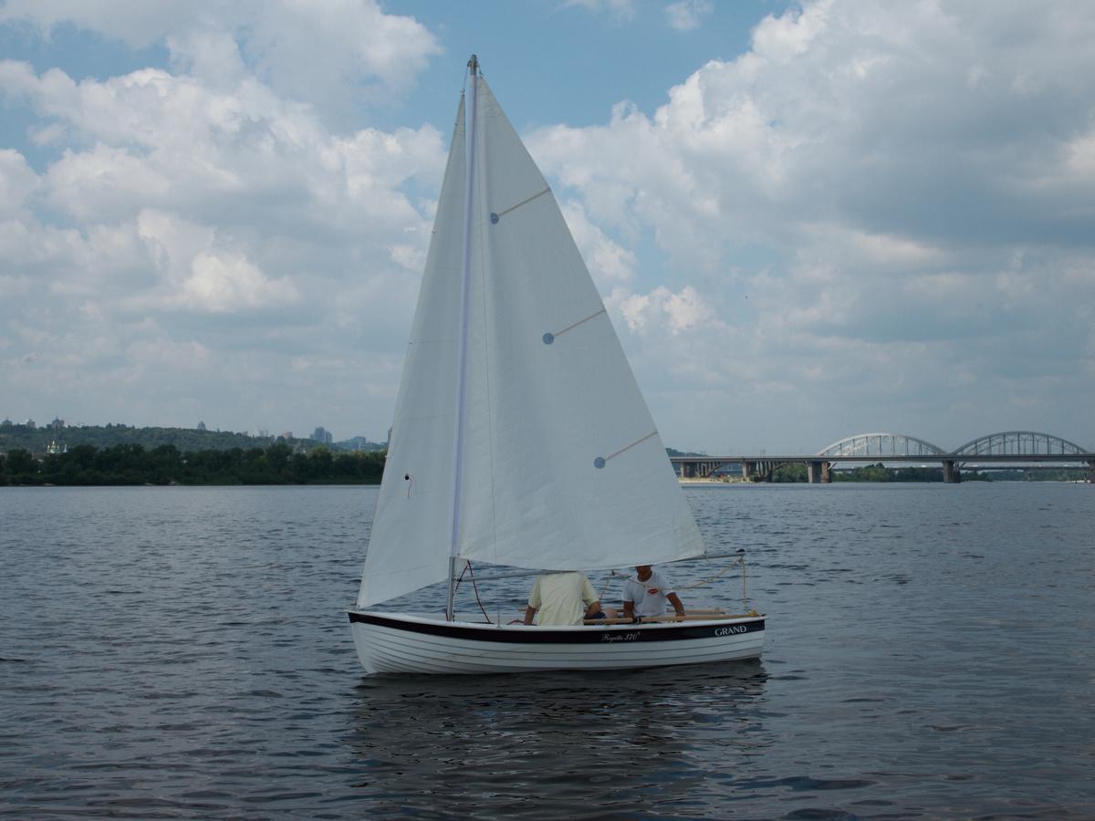 GRAND Regatta RG370S, парусная лодка, парусная лодка GRAND Regatta, парусная лодка GRAND, Regatta RG370S